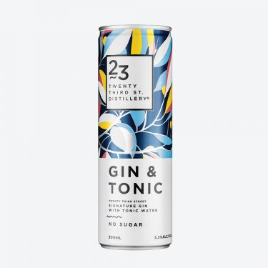 23rd Street Distillery Signature Gin and Tonic 300ml