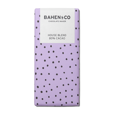Bahen and Co Chocolate Maker House Blend 80% Cacao 75g