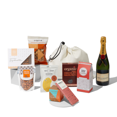Be Excited Christmas Hamper w Moet Chandon French Champagne
