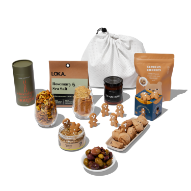 Cheesy Grin Christmas Hamper by beauty's got soul.