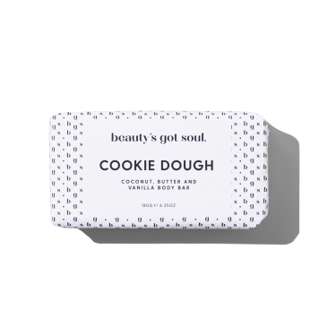 Cookie Dough Body Bar 180g with Coconut, Butter and Vanilla