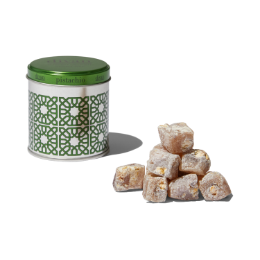Divan Pistachio Turkish Delight Tin 70g