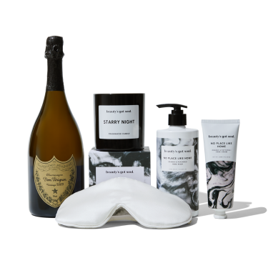 Dom Perignon and Candle Gift Hamper