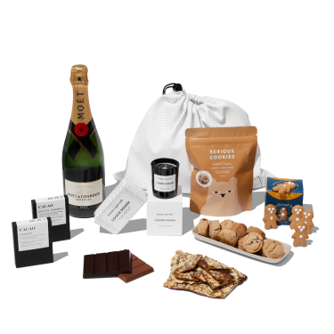Moet & Chandon Christmas Hamper by beauty's got soul.