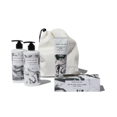 Monochrome Home Bath and Body Gift Set