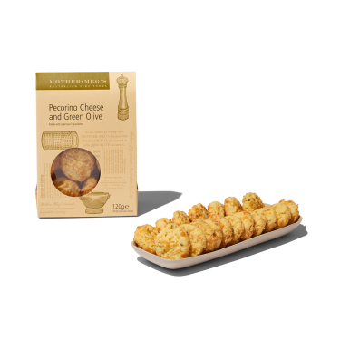 Mother Megs Pecorino Cheese Biscuits 120g