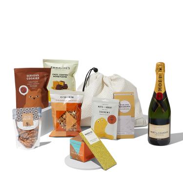 Send a Sunny Disposition | Gift Hamper w Moet Chandon French Champagne 750ml