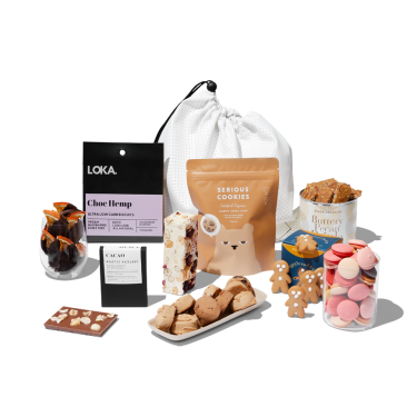 Sweet and Heavenly Christmas Hamper by beauty's got soul.