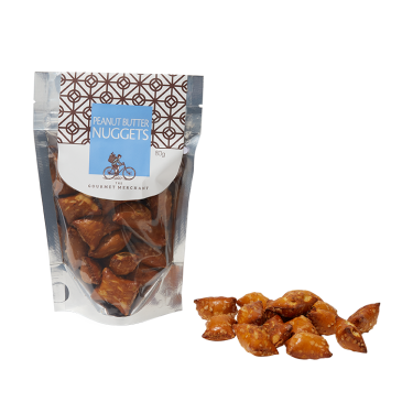 Peanut Butter Nuggets by the Gourmet Merchant 80g