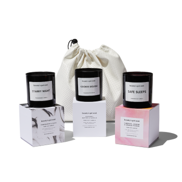 Trio of Maxi Candles |  Beautys Got Soul