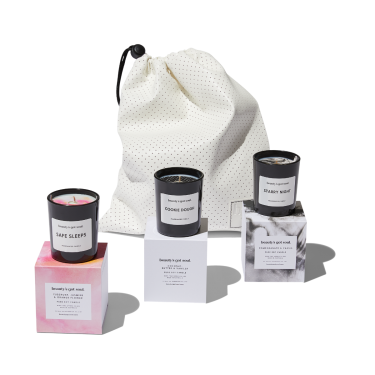 Trio of Mini Candles by Beauty's Got Soul