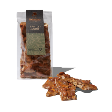 Walkers Lane Crunchy Almond Brittle 150g